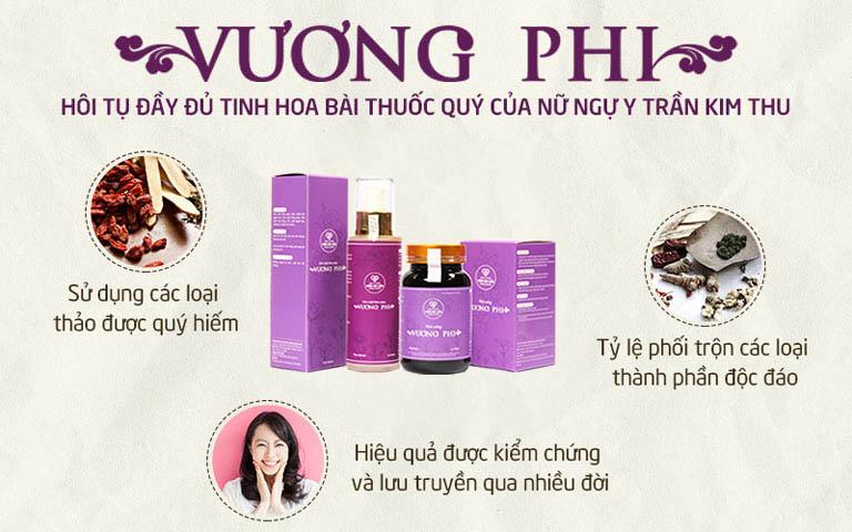 Bộ sản phẩm Nám - Tàn nhang Vương Phi