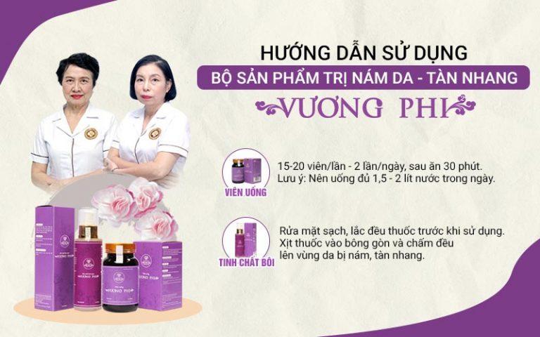 Chị em nên sử dụng sản phẩm theo đúng hướng dẫn của bác sĩ để đạt được hiệu quả cao nhất