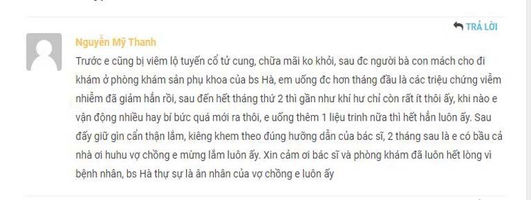 Phản hồi của bệnh nhân về bài thuốc của bác sĩ Đỗ Thanh Hà