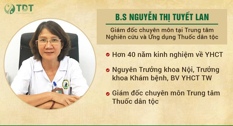 Chân dung Ths.Bs Nguyễn Thị Tuyết Lan - Chuyên gia hàng đầu về YHCT