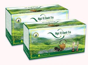 Ngũ vị danh trà - tinh hoa từ 5 loại trà tuyệt hảo giúp thải độc