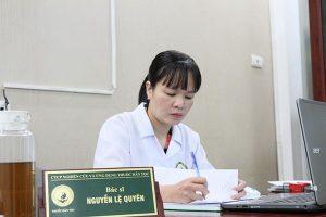 Địa chỉ bác sĩ Nguyễn Lệ Quyên chữa nổi mề đay ở đâu?