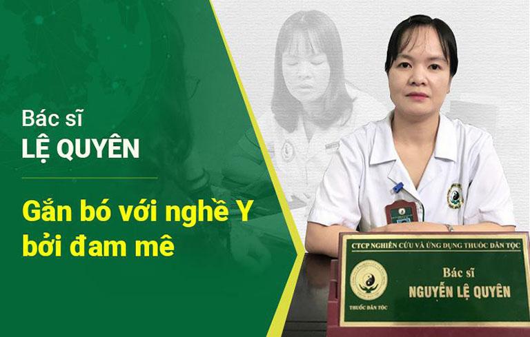 Hình ảnh bác sĩ Nguyễn Thị Lệ Quyên