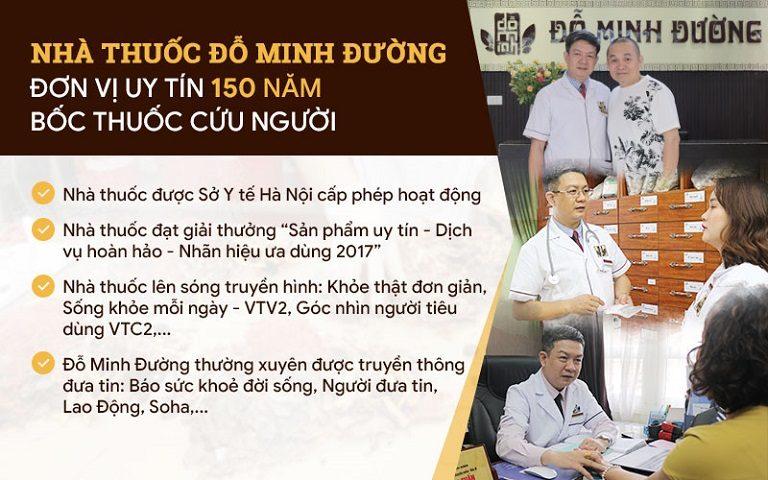 Nhà thuốc Đỗ Minh Đường - Địa chỉ uy tín được chị Hoa lựa chọn