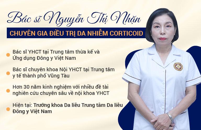 Bác sĩ Nguyễn Thị Nhặn có tới 30 năm kinh nghiệm điều trị bệnh da liễu bằng Y học cổ truyền