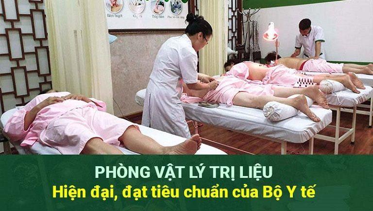 Phòng vật lý trị liệu của Thuốc dân tộc 145 Hoa Lan