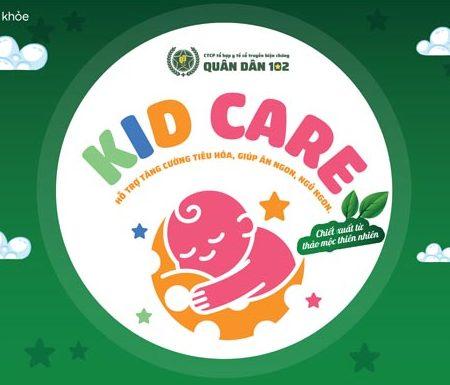 Cốm dinh dưỡng KID CARE là sản phẩm độc quyền của TT Dinh dưỡng Quân dân 102