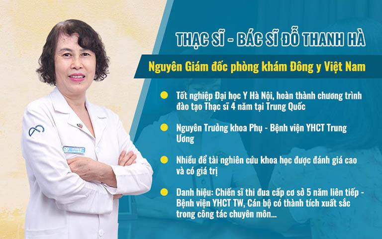Chân dung thạc sĩ, bác sĩ Đỗ Thanh Hà