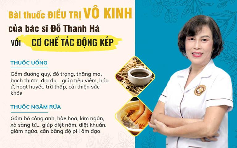 Bài thuốc điều trị vô kinh của bác sĩ Đỗ Thanh Hà