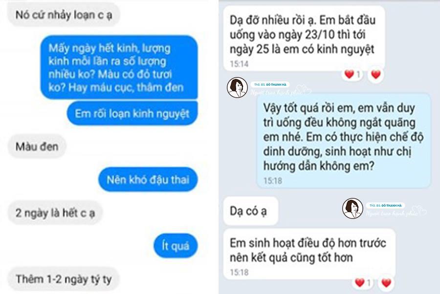 Một người bệnh khác phản hồi về bài thuốc của bác sĩ Đỗ Thanh Hà